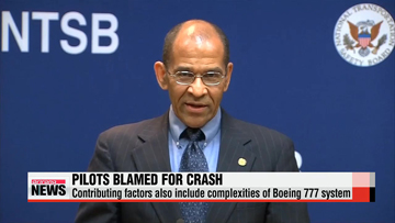 NTSB: Asiana crash caused by pilot error