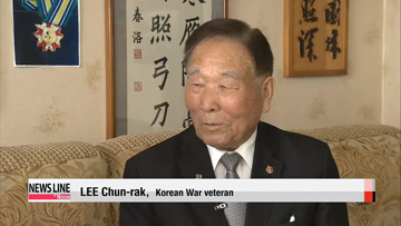 "Korean War veteran: ""We must not forget the sacrifices of our soldiers"""