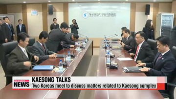 Koreas meet for talks on matters related to Kaesong complex