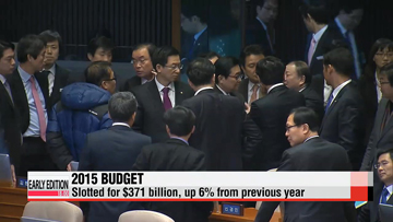Budget increase for 2015 smallest in five years