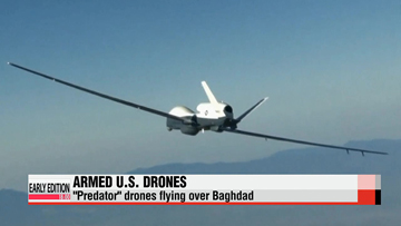 Armed U.S. drones deployed in Iraq