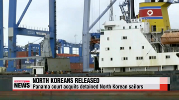 Panama court acquits detained North Korean sailors