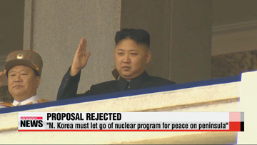 S. Korea rejects N. Korea's proposal to end hostilities