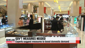 Experts say measures to boost domestic demand is critical