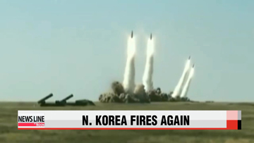 N. Korea fires two short-range projectiles ahead of Xi Jinping's S. Korea trip