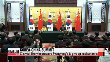 Chinese President Xi Jinping due for state visit to Seoul