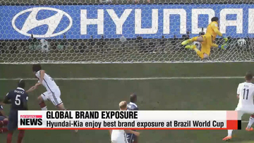 Hyundai-Kia enjoy best brand exposure at Brazil World Cup