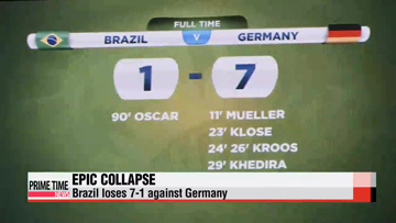 World Cup: Germany thrashes Brazil 7-1 to reach World Cup final