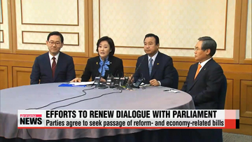President Park faces tough political decision upon opposition's request