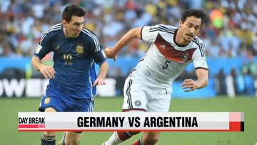 World Cup final, Germany vs Argentina