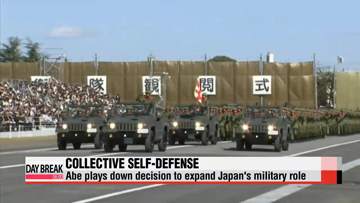 Abe defends new Japan defense policy