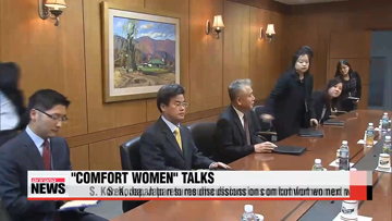 S. Korea, Japan to resume talks on comfort women next week