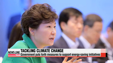 President Park seeks opportunities from aging society, climate change