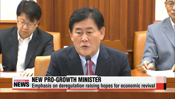Korea's appointment of new finance minister raising hopes for economic revival