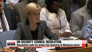 UNSC adopts resolution as bodies, black boxes are handed over