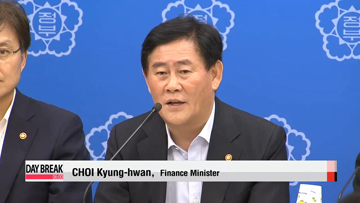 Korea's new economic team lays out plan to cut off low-growth trend