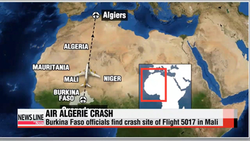 Air Algerie flight crash kills 116, third int'l aviation accident in week