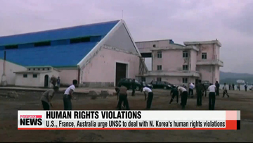Three countries urge UN Security Council to deal with N. Korea's human rights violations - report