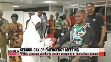 UN health body continues emergency meeting on Ebola outbreak