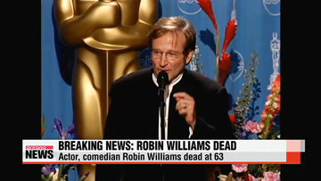 American actor Robin Williams dead of suspected suicide