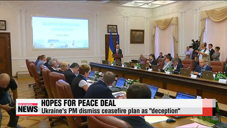 Ukraine, Russia agree on peace moves but fighting continues