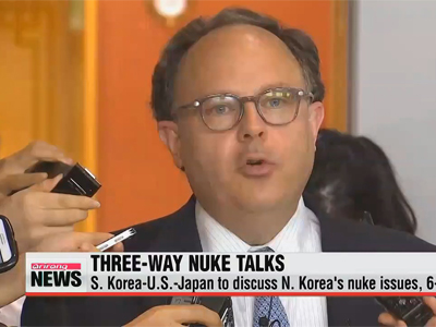 S. Korea-U.S.-Japan to discuss N. Korea's nuke issues