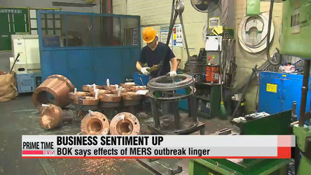 Economic indicators rise slightly, not enough to quell MERS impact