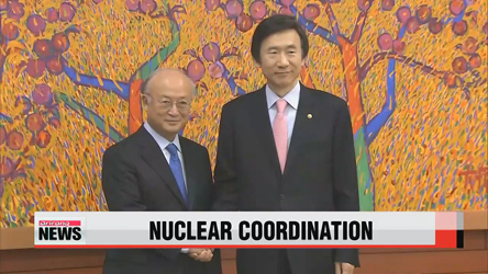 S. Korean FM, IAEA chief discuss cooperation on varius issues