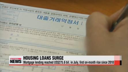 Housing loans increase in July, despite low summer season
