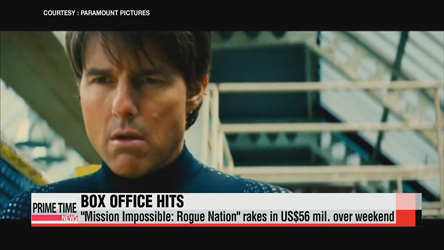 'Mission: Impossible 5' takes weekend box office