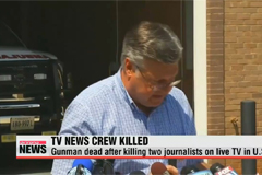 Gunman dead after killing two journalists on live TV in U.S.
