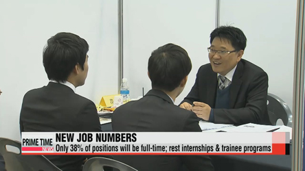 Breaking down Korean conglomerates' youth recruitment drive