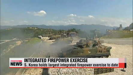 South Korea U.S. conduct Integrated Firepower Exercise 2015