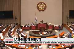 Plenary session canceled over classified 'special activities' budget standoff