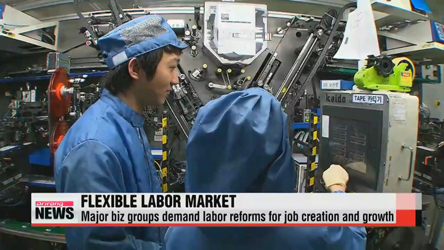 Korea's major business groups call for labor reforms