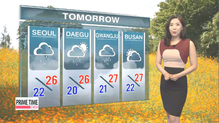 Cooling trend begins with rain on Wednesday