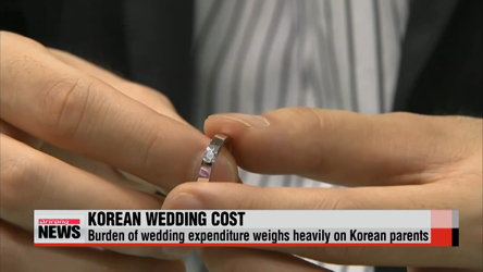 Korean parents pay US$68,000 for son's wedding, $51,000 for daughter's