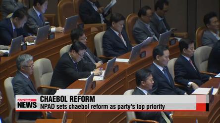 Reforming conglomerates is NPAD's top priority