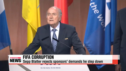 Fifa chief Sepp Blatter rejects sponsors' demands he step down