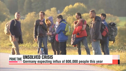Migrants continue to flood into Europe