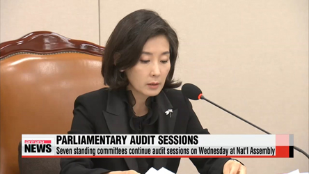 Seven standing committees continue audit sessions on Wednesday at Nat'l Assembly