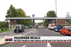 Volkswagen to begin recalls in January