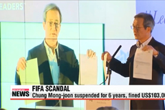 Former FIFA Vice-President Chung Mong-joon to take legal action against Ethics Committee and Blatter