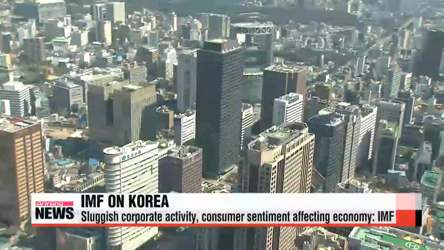 Weak corporate activity, consumer sentiment dragging on Korean ecomony: IMF