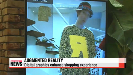 Augmented reality becoming a widespread shopping experience in Korea