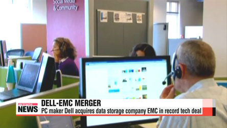 Dell acquires EMC in US$67 bil. record tech deal
