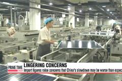 China's imports fall 20.4% y/y in September