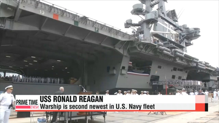 USS Ronald Reagan to arrive in S. Korea next week