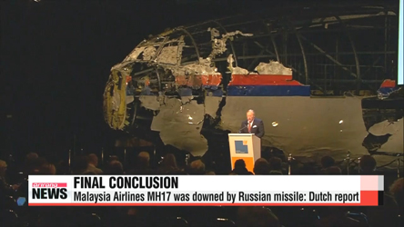 MH17 shot down by Russian missile: Dutch report
