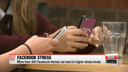 Too many Facebook friends can lead to higher stress levels